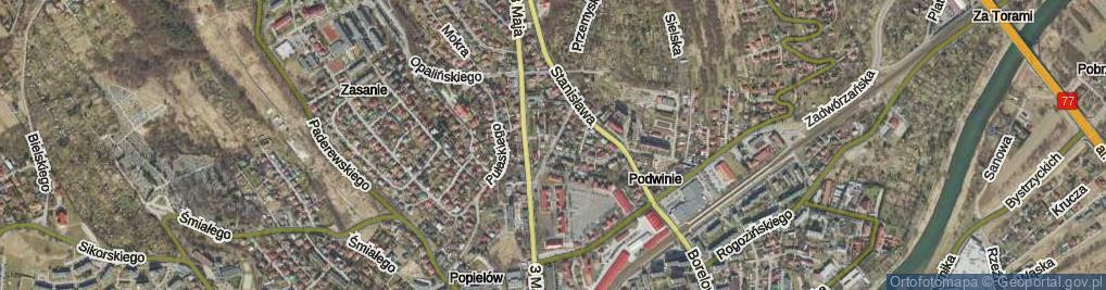 Zdjęcie satelitarne Sarbiewskiego Macieja ul.