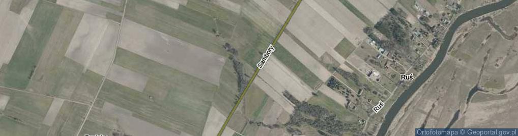 Zdjęcie satelitarne Sambory ul.