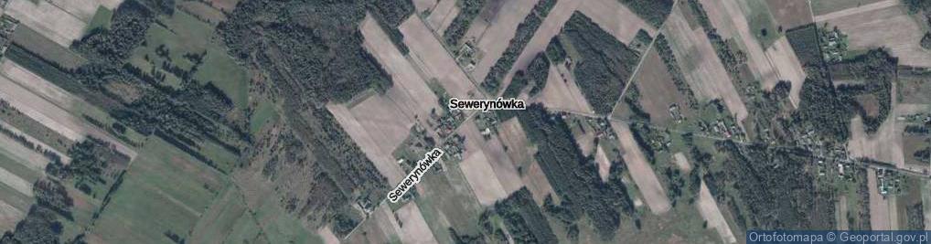 Zdjęcie satelitarne Sewerynówka ul.