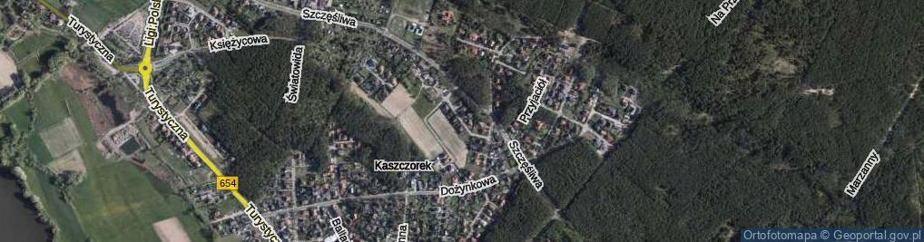 Zdjęcie satelitarne Serdeczna ul.