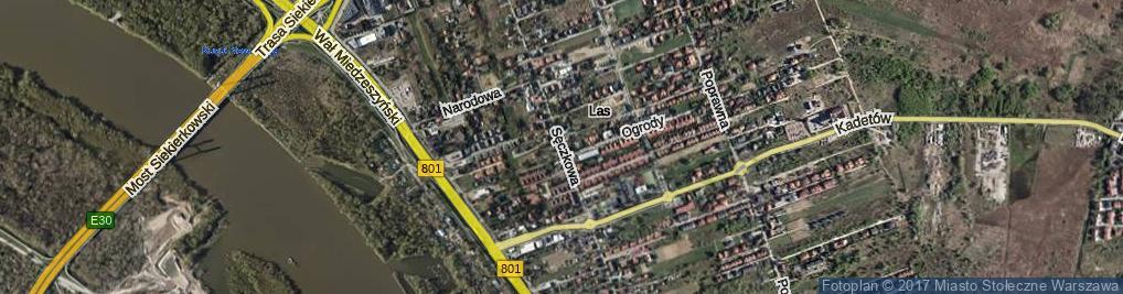 Zdjęcie satelitarne Sęczkowa ul.