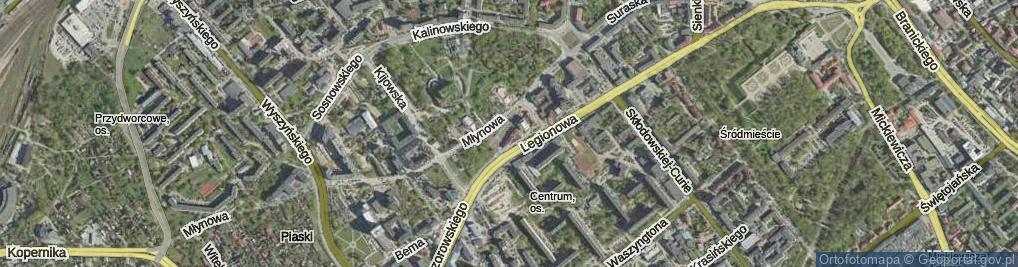 Zdjęcie satelitarne Sienny Rynek ul.