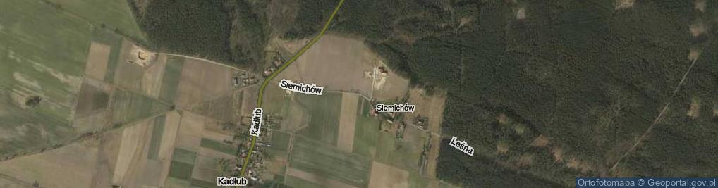 Zdjęcie satelitarne Siemichów ul.