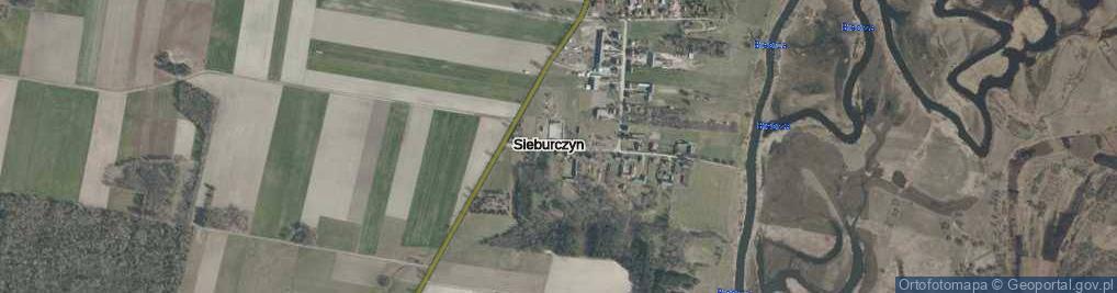 Zdjęcie satelitarne Sieburczyn ul.