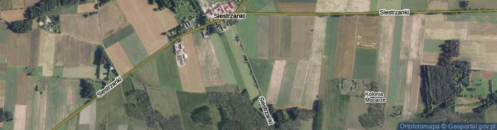 Zdjęcie satelitarne Siestrzanki ul.