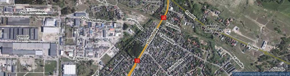 Zdjęcie satelitarne Sielska ul.