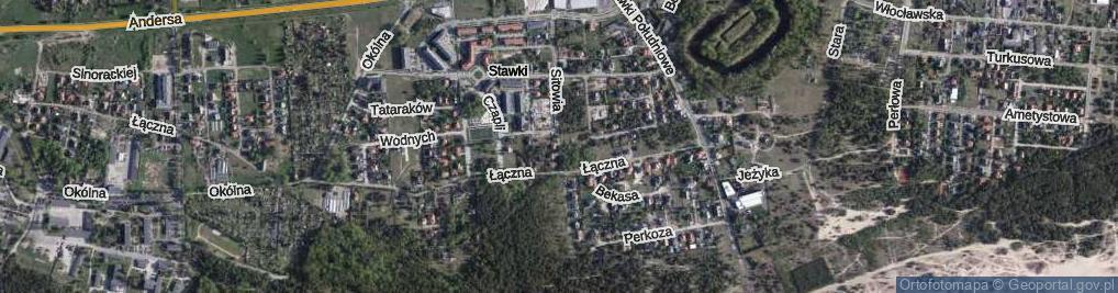 Zdjęcie satelitarne Sitowia ul.