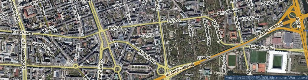 Zdjęcie satelitarne Sieroszewskiego Wacława ul.