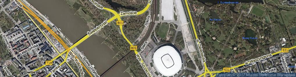 Zdjęcie satelitarne Siwca Ryszarda ul.
