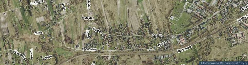 Zdjęcie satelitarne Skalskiego Stanisława, gen. ul.