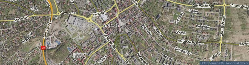 Zdjęcie satelitarne Skwer Kempińskiego Czesława skw.