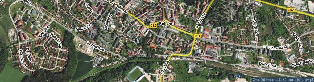 Zdjęcie satelitarne Skwer św. Jana Pawła II skw.
