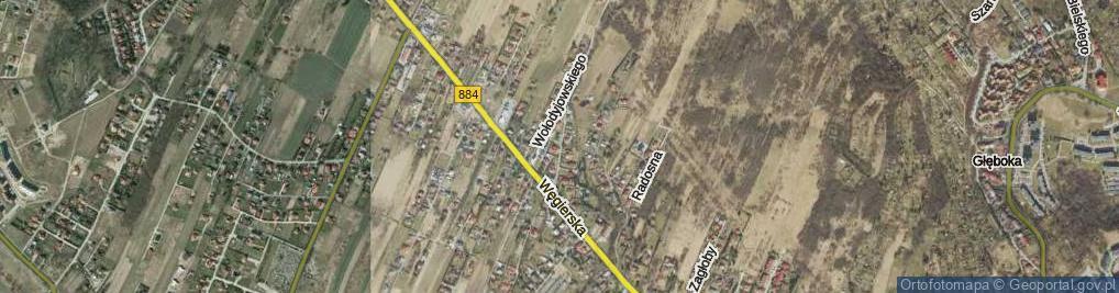 Zdjęcie satelitarne Skrzetuskiego Jana ul.