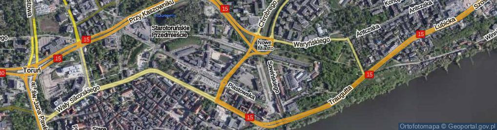 Zdjęcie satelitarne Skrzyńskiego Stanisława, gen. ul.