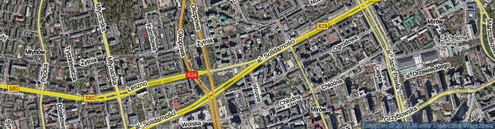 Zdjęcie satelitarne Skwer Pamięci skw.