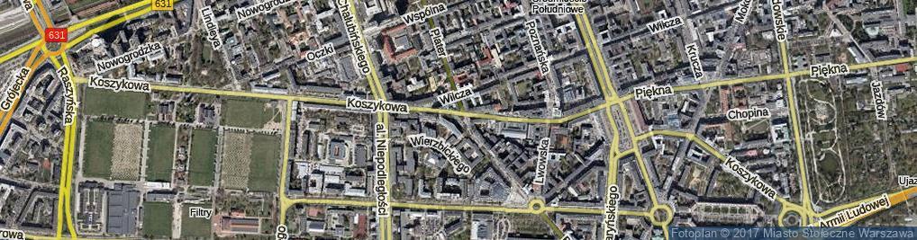 Zdjęcie satelitarne Skwer 3 Batalionu Pancernego AK Golski skw.