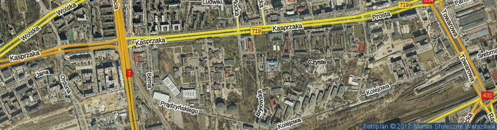Zdjęcie satelitarne Skwer Pawełka Alojzego skw.