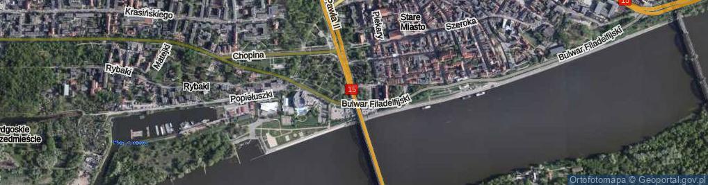 Zdjęcie satelitarne Ślimak Getyński ul.