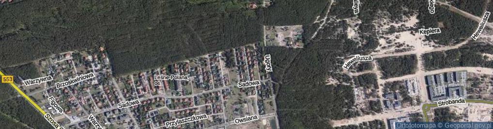 Zdjęcie satelitarne Śliwowa ul.