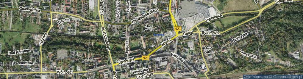 Zdjęcie satelitarne Słodczyka Filipa ul.
