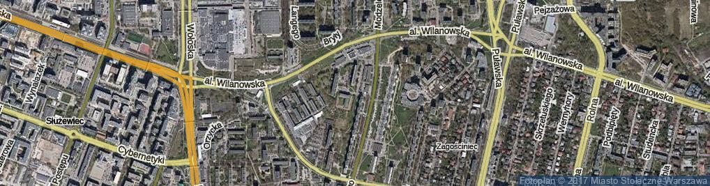 Zdjęcie satelitarne Smoluchowskiego Mariana ul.