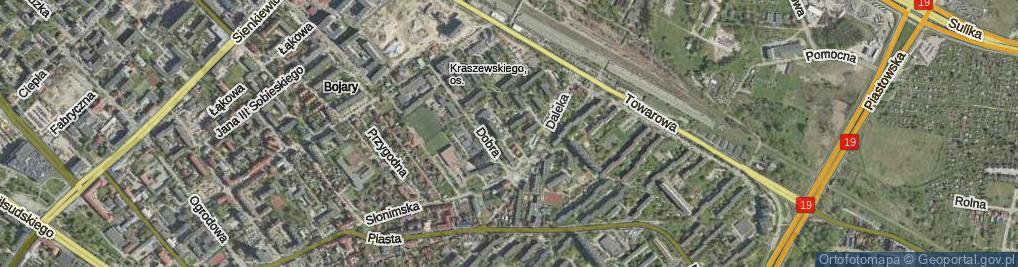 Zdjęcie satelitarne Sowia ul.