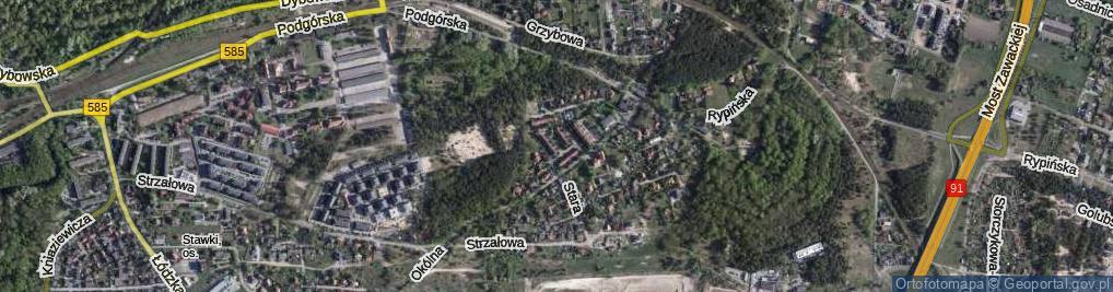 Zdjęcie satelitarne Soplicy Jacka ul.