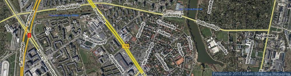 Zdjęcie satelitarne Sobolewska ul.