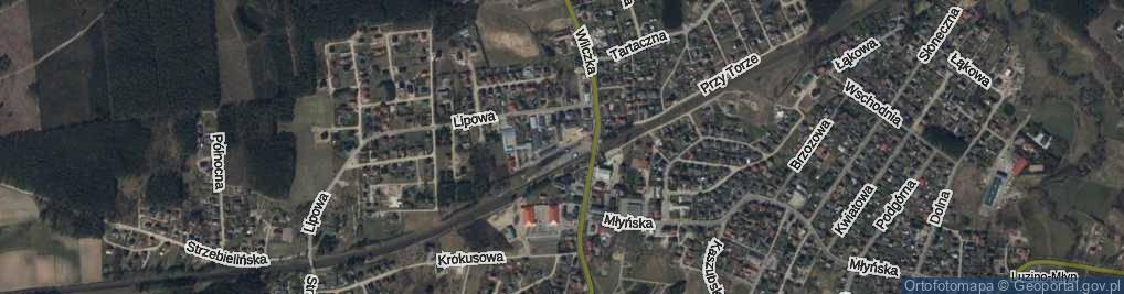 Zdjęcie satelitarne Spółdzielców ul.