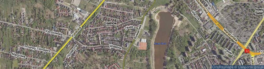 Zdjęcie satelitarne Spokojna ul.