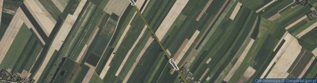 Zdjęcie satelitarne Spławy ul.