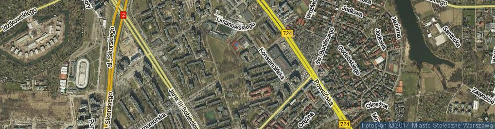 Zdjęcie satelitarne Spalska ul.