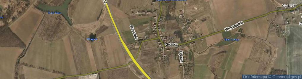 Zdjęcie satelitarne Średzka ul.