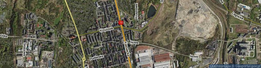 Zdjęcie satelitarne Stabika Antoniego, ks. ul.