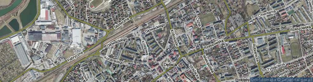 Zdjęcie satelitarne Strumskiego ul.