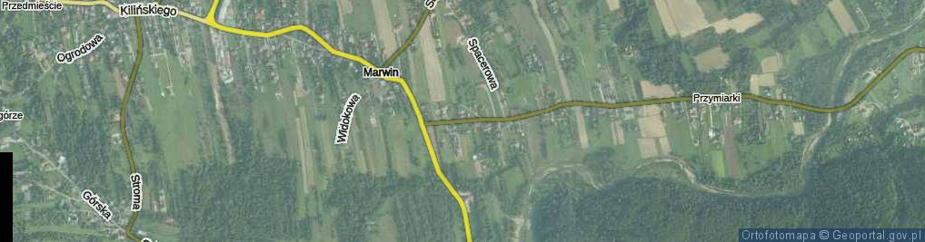 Zdjęcie satelitarne Stadnicka ul.