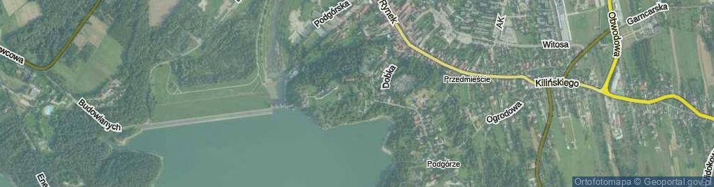 Zdjęcie satelitarne Stare Miasto ul.