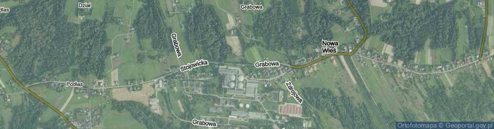 Zdjęcie satelitarne Stojowicka ul.