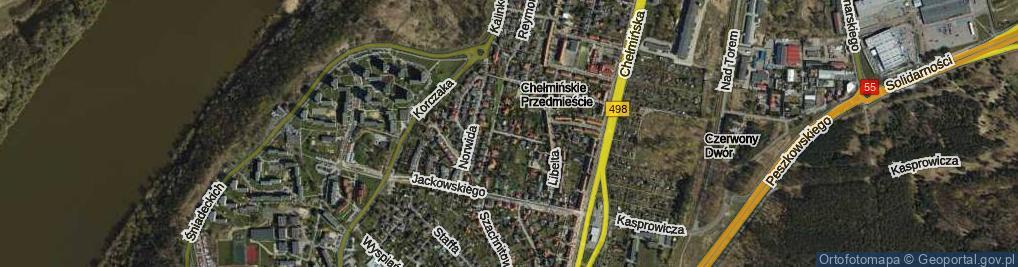 Zdjęcie satelitarne Stefczyka ul.