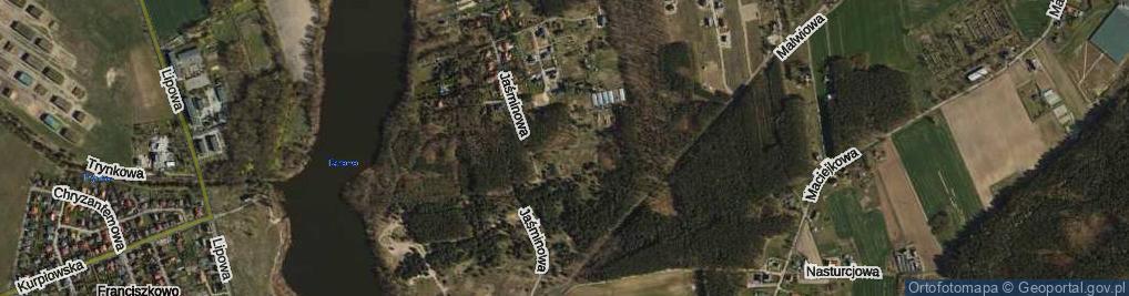 Zdjęcie satelitarne Stokrotkowa ul.