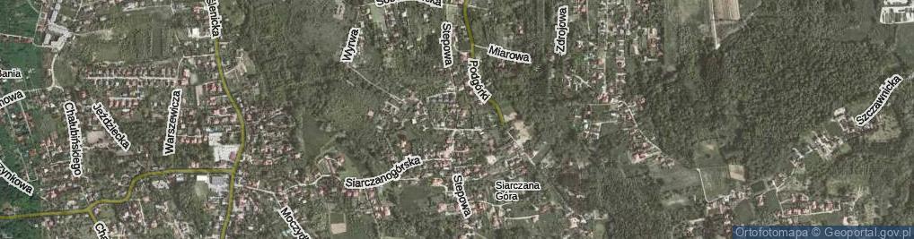Zdjęcie satelitarne Stepowa ul.