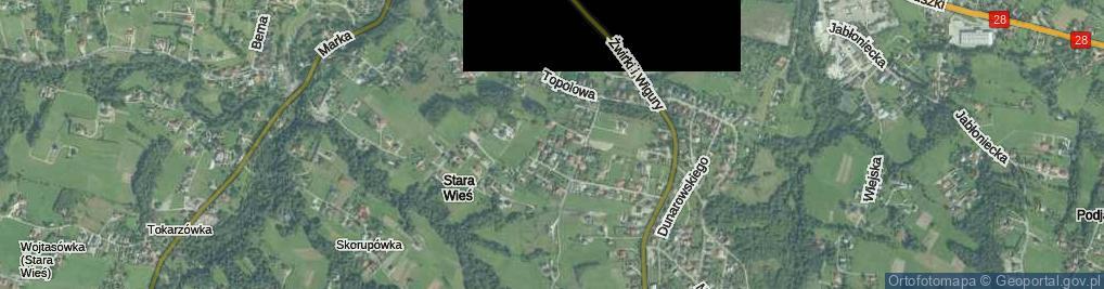 Zdjęcie satelitarne Staniszewskiego Józefa ul.
