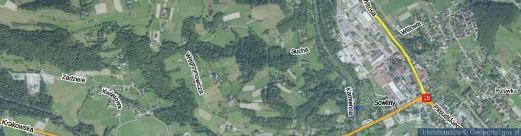 Zdjęcie satelitarne Stroma ul.