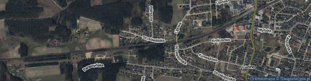Zdjęcie satelitarne Strzebielińska ul.