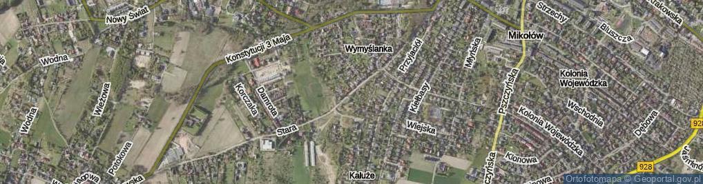 Zdjęcie satelitarne Stara Droga ul.