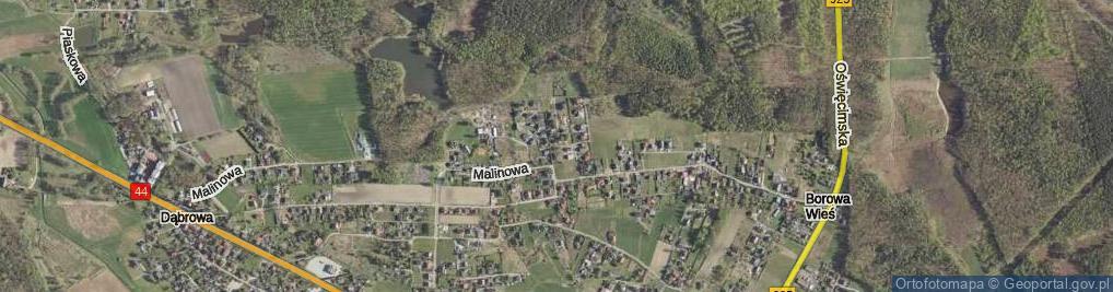Zdjęcie satelitarne Stokrotek ul.