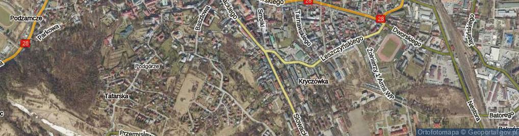 Zdjęcie satelitarne Stachiewicza Juliana, gen. ul.