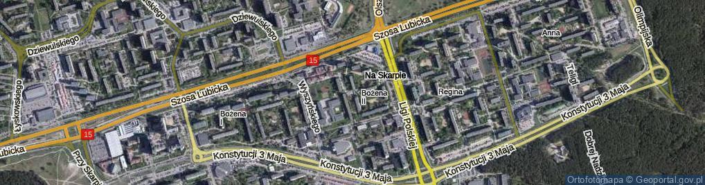 Zdjęcie satelitarne Stawisińskiego Tomasza ul.