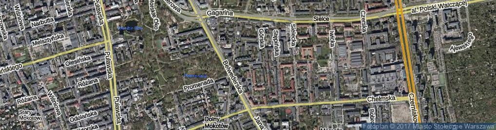 Zdjęcie satelitarne Stopowa ul.