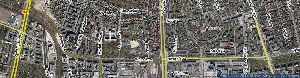 Zdjęcie satelitarne Staszowska ul.